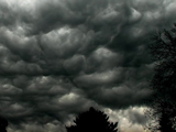 ابر های طوفانی
