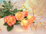 دسته گل رز عروسی