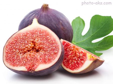 عکس انجیر رسیده figs fruit ripe