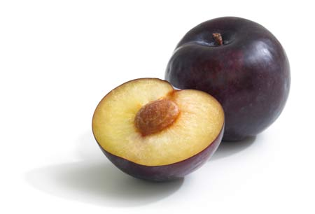 عکس میوه آلو رسیده plum fruit wallpaper