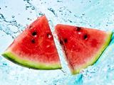 پوستر هندوانه و آب