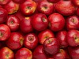 والپیپر سیب های سرخ در جعبه