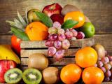 عکس سبد پر از میوه