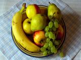 تصویر ظرف میوه خوشمزه