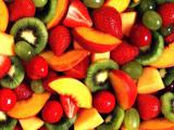 عکس پس زمینه مخلوط میوه ها