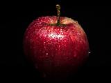 عکس سیب قرمز آبدار و خوشمزه