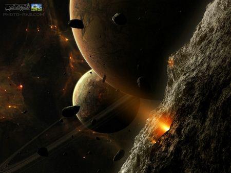 عکس تخیلی زیبا از فضا aks takhayoli faza