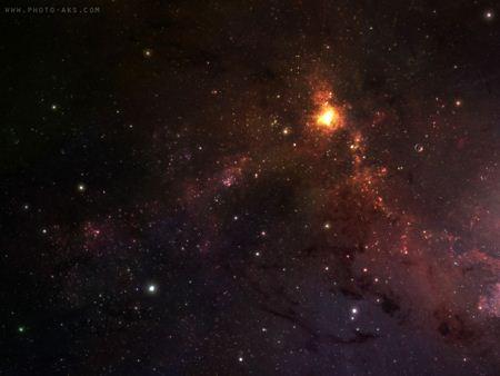 عکس کهکشان و ستارگان Universe