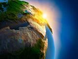طولع خورشید در کره زمین