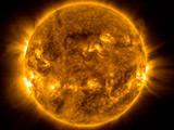 خورشید با اشعه ماوراء بنفش