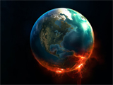 عکس فانتزی کره زمین
