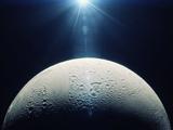 عکس ماه از نمای نزدیک