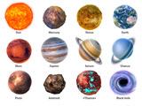 تصویر سیارات منظومه شمسی