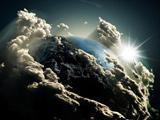 عکس جالب از کره زمین