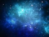 تصویر زمینه زیبا از کهکشان آبی