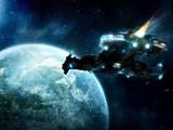 حمله سفینه فضایی به زمین