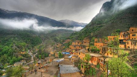 طبیعت زیبای شهر ماسوله city masuleh gilan
