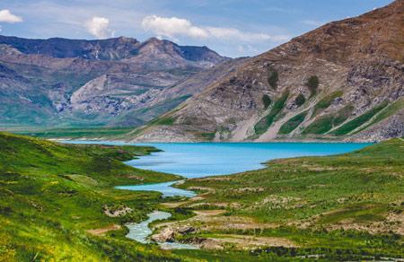 عکس دریاچه پارک ملی لار lar dam lake