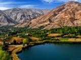 عکس دریاچه اوان الموت قزوین