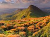 منظره بهاری کوهستان