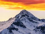 طلوع خورشید کوه های راکی کلرادو