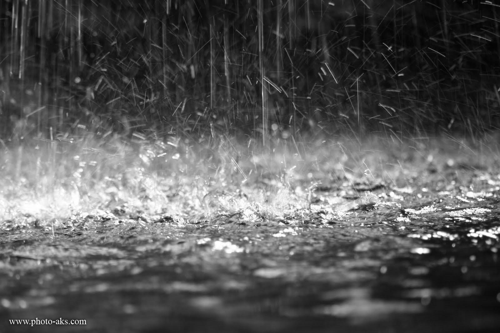 باران تند