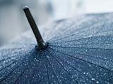 عکس باران روی چتر