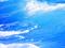امواج خروشان دریای آبی
