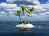 عکس منظره جزیره کوچک