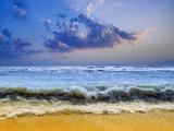 زیباترین عکس امواج کنار ساحل