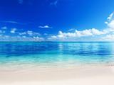 مناظر زیبا طبیعت آرام ساحل دریا