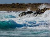 تصویر زیبای منظره امواج ساحل دریا