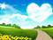 منظره طبیعت عاشقانه بهار