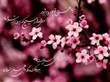 عکس نوشته شکوفه بهاری