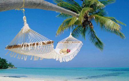 بانوج یا ننو تابستانی کنار ساحل summer relax