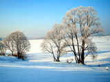 پوستر مناظر زمستانی زیبا