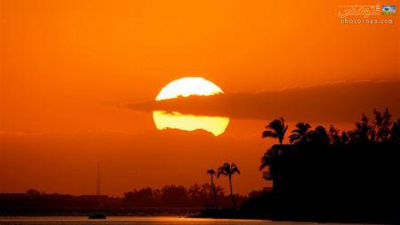 زیباترین عکس های غروب sun set wallpapers