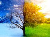 تغییر فصل زمستان به بهار