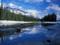رودخانه زمستانی در کانادا