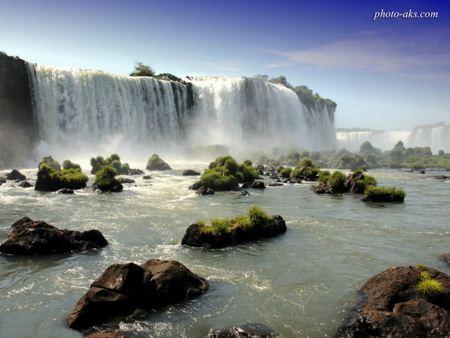 زیباترین عکس آبشار watterfall wallpaper