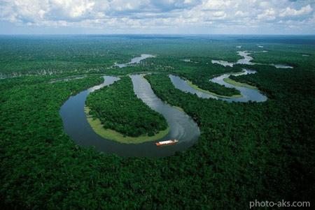 رودخانه آمازون amazon river
