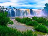 عکس منظره آبشار بزرگ زیبا