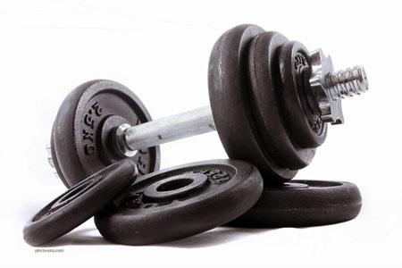 عکس دمبل بدنسازی dumbbell bodybuilding