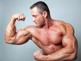 عضلات ورزیده جلوبازو بدنساز
