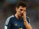 گریه لیونل مسی در فینال جام جهانی