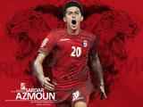 والپیپر سردار آزمون فوتبالیست ایرانی