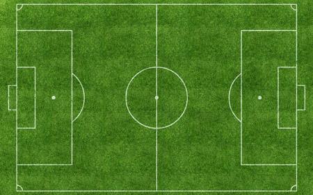 عکس زمین چمن سبز فوتبال football field