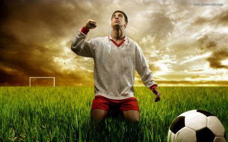 والپیپر فوتبالی  soccer player