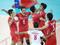 بازیکنان تیم ملی والیبال ایران