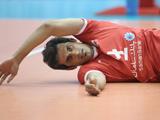 سعید معروف در حال تمرین